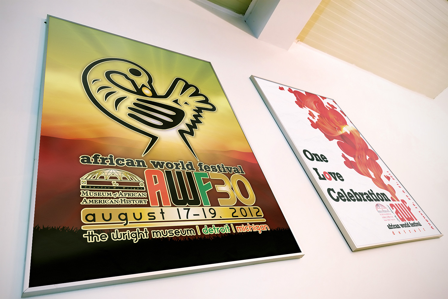 Posters-African World Festival, Detroit
