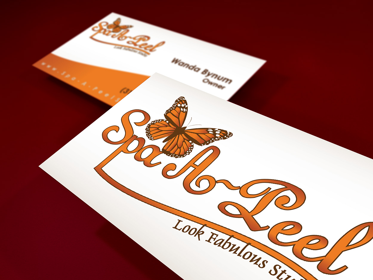 Spa-A-Peel Business Card