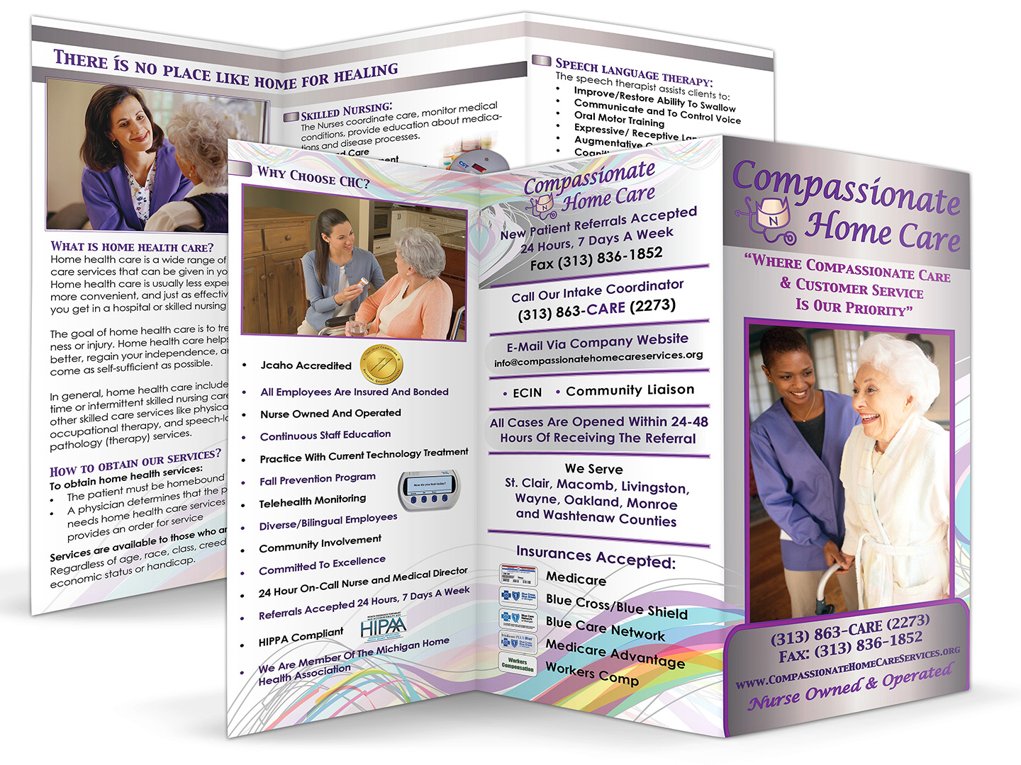 Compassionate Home Care Brochure