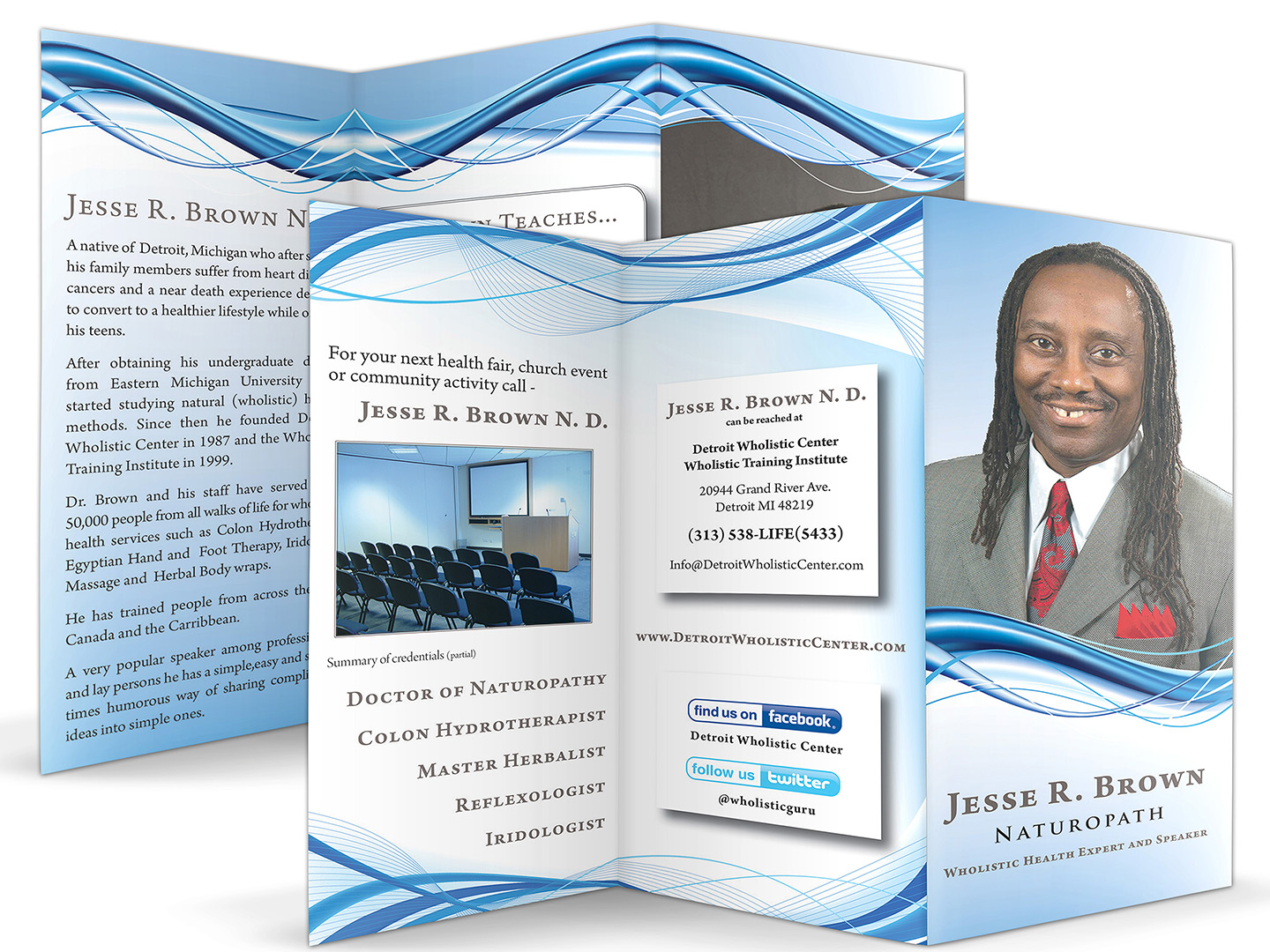 Dr. Jesse R. Brown Brochure