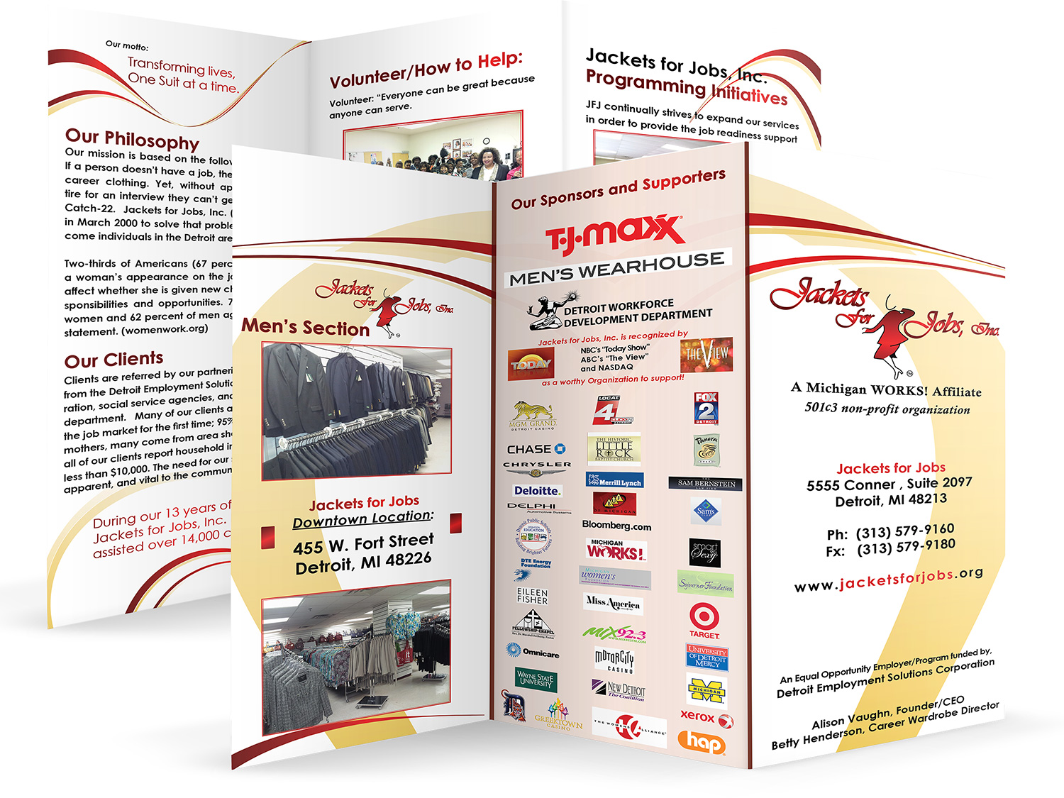 Jackets For Jobs Brochure