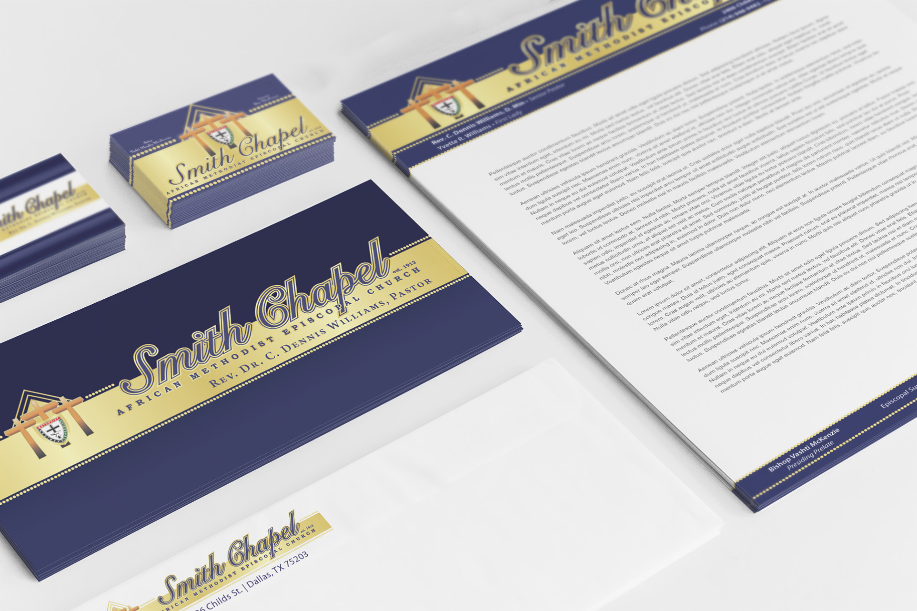 Corporate ID Package Smith Chapel AME
