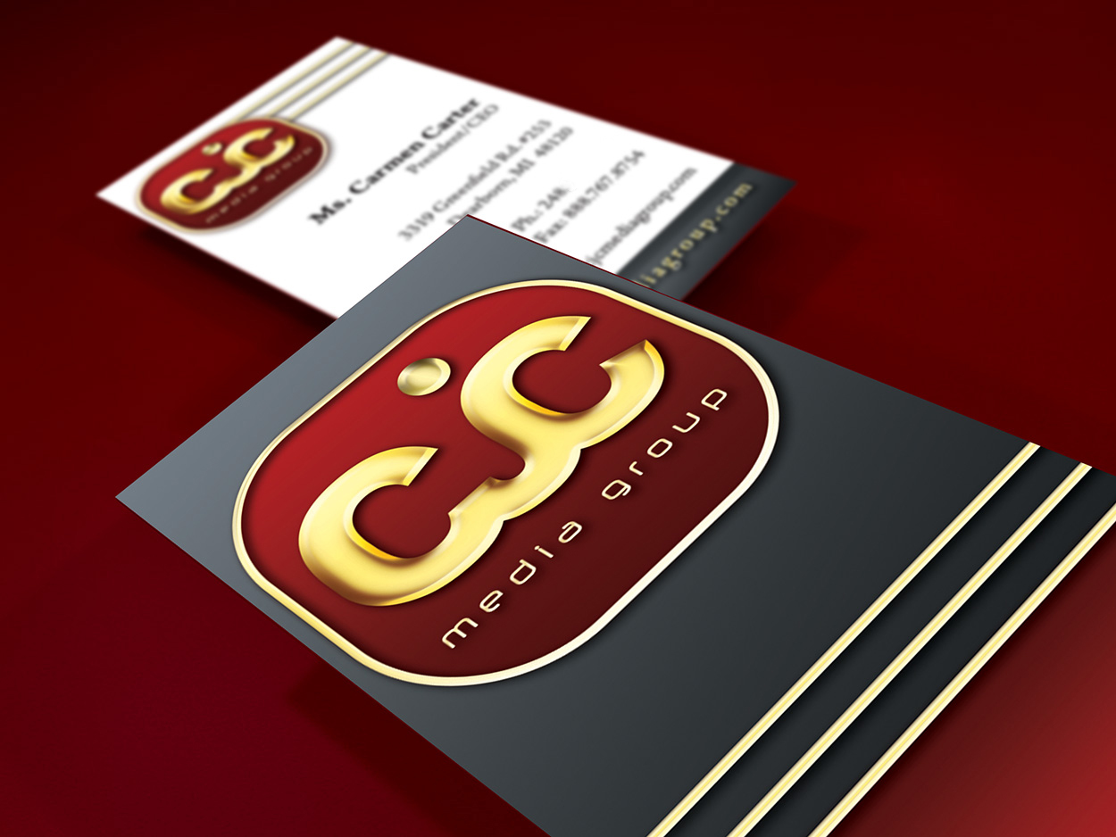 CJC Media Group Business Card